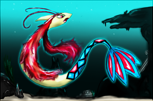 Milotic by Ilona-the-Sinister