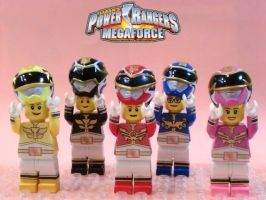 LEGO Power Rangers Megaforce by 0yakata