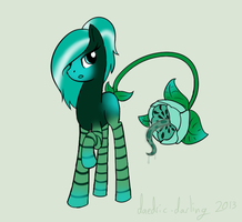 A Carnivorous Flower by daedric-darling