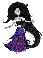 Esmeralda - Hunchback of Notre Dame by Cat-Scratches