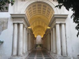 Borromini's Forced Perspective by dzzzy27