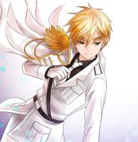 aph England white suit by mikitaka