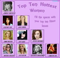 Top 10 Hottest Women by XxMariahXx