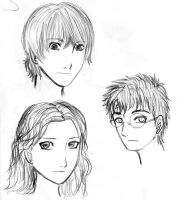 Harry Potter sketchs by Midorikawa-eMe111