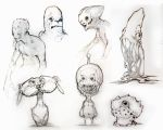 Sketch Book Creatures April 08 by ProjectHybrid
