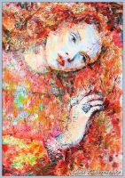 Klimt's painting come alive by LORETANA
