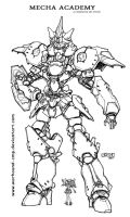 Mecha Academy M2 INKS 4132011 by Warhound-CMP