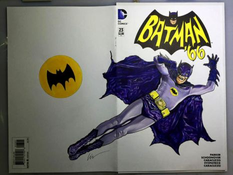 Batman '66 Adam West by linworkman