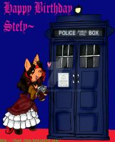 Welcome to the Tardis~ Happy B-Day Stefy p2 by 0Koji-chan