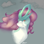 suicune by crashmeow