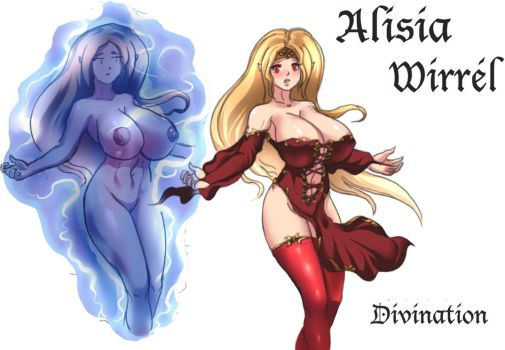 Alisia Wirrel - Divination by RedHotWhiteHeat