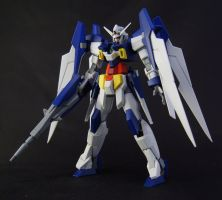 Gundam Age-2 Front by AlmightyElemento