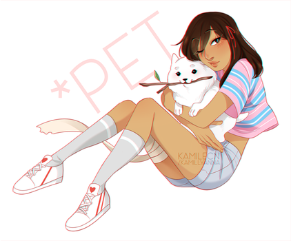 *you're carrying too many dogs by kamillyanna