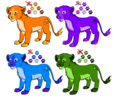 Lion Cub Adoptables 2 -SOLD- by Roksi10