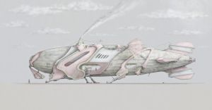 Freight Dirigible by 28crucis