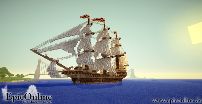 Bengali Tiger - Minecraft Ship by EpicOnline