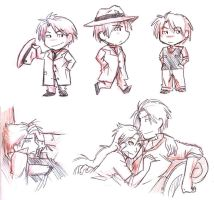 Rufus sketches part 2 by agra19