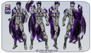 Antiperion- Dark Star by CapitalComicsStudios