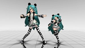 Panda Miku MMD download by Reon046