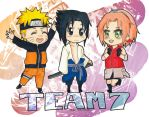 chibi team 7 by yuipo