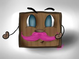 Tiny Box Warfstache Tim! by bravo-my-life