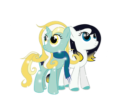 Glow Frost and Stardust by mechafone