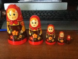 Matryoshka Dolls 2 by universe-punch