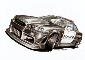 Skyline GT-R34 - Assault Rifle by Medvezh