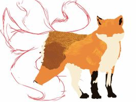 Vulpes Ignus by Kendra-candraw