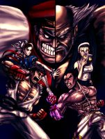 Street Fighter X Tekken by jaredjlee