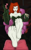 Poison Ivy (Colored) by MFS and Drunkenshinigami by T95Master