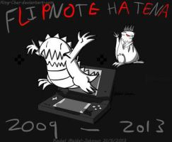 The end of Flipnote Hatena by KingCharEdCoal