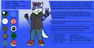 Dennis Reference Sheet by JomoOval