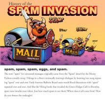 History of Spam by Emosktr