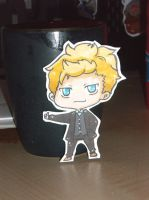 The Mentalist: patrick Jane PC by Sunchildkate