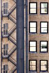 Windows And Fire Escapes by UrbanShots