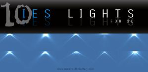 IES lights - for 3D by Rozairo