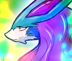 Suicune by DC-san