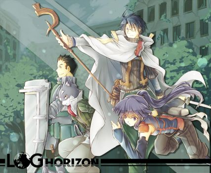 [Fanart] Log Horizon by Rintaraz