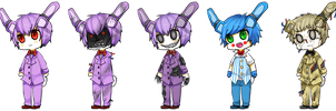 Bonnie (all versions) by Reikiwie
