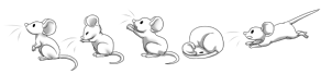 Free Mice Poses by LioKat