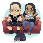 Commission: Chibi Gaming by TheK40