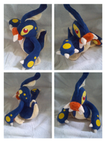 eelektross plush by LRK-Creations