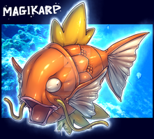 Magikarp by Bandof40Artthieves