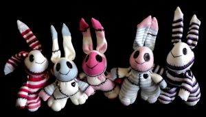 Herd of bunnies by kat250