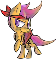 Day 2: Scootaloo by Spanish-Scoot