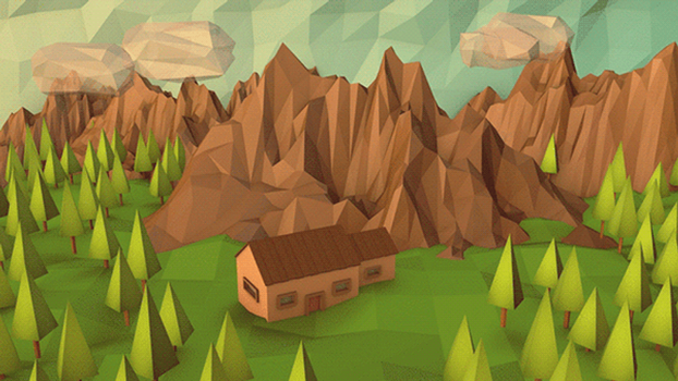 Low Poly Woodland by error-23