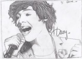 Harry Styles Drawing. by iTZzRachelXD