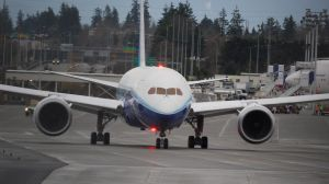 Boeing 787 front by shelbs2