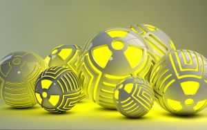 Radioactive glowing Balls by Dracu-Teufel666